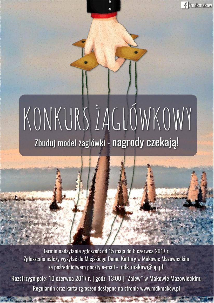 Plakat konkursu zagłówkowego.