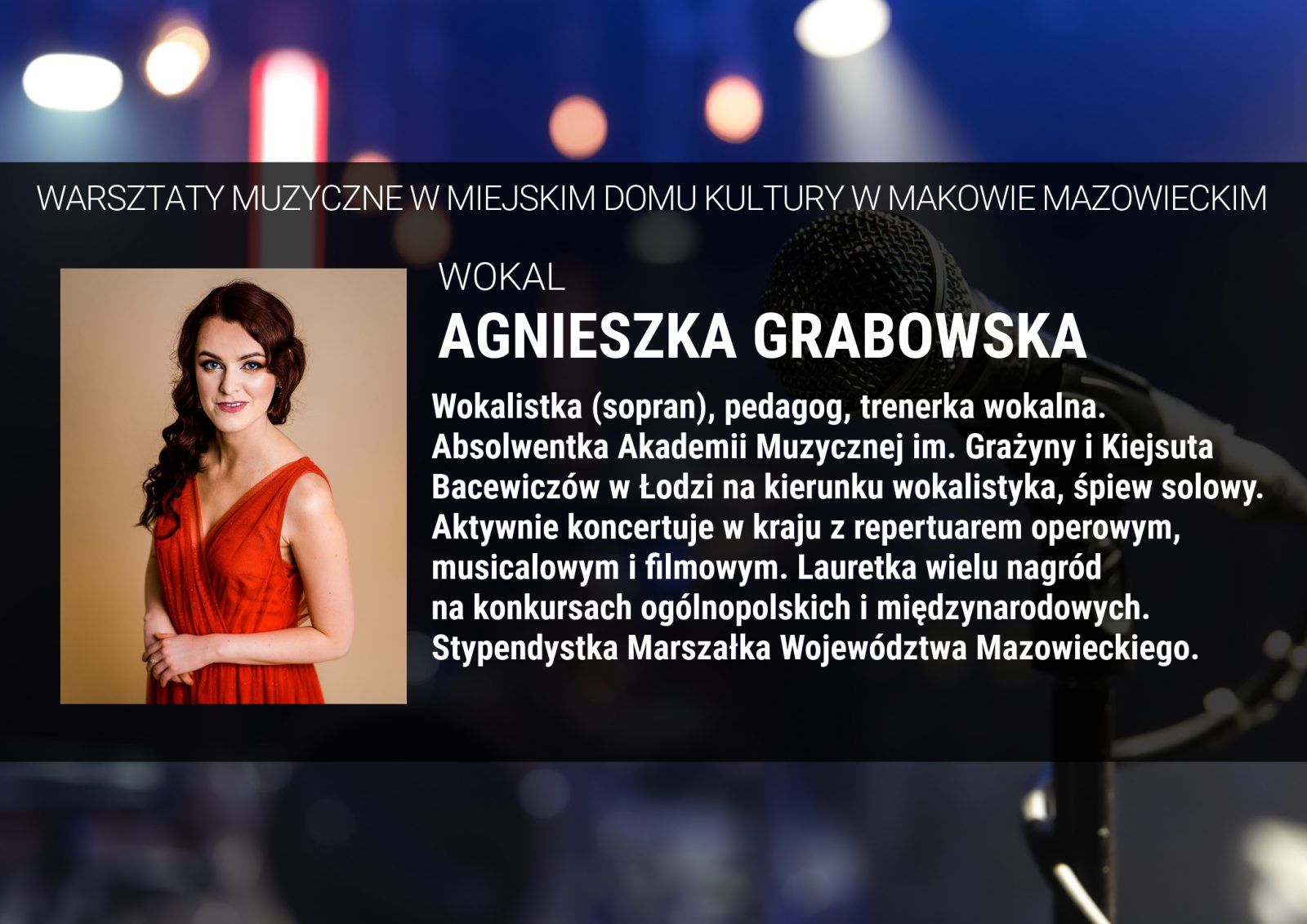 Informacja. Instruktor Agnieszka Grabowska